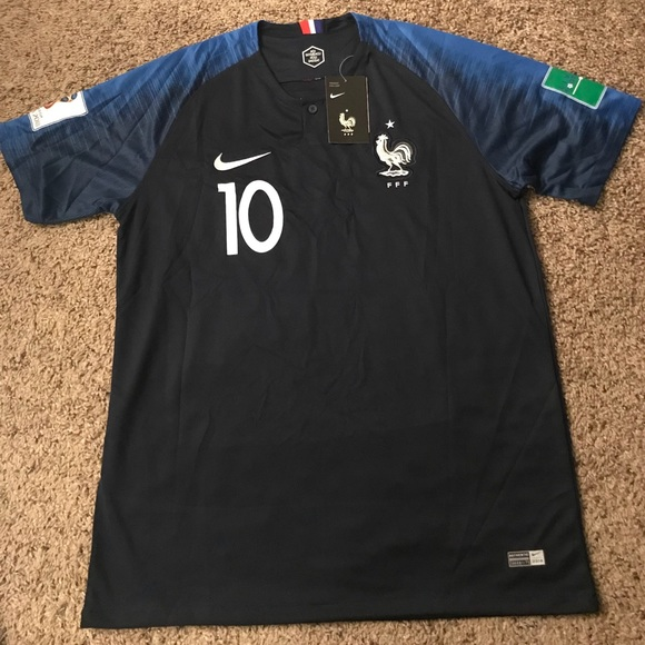 France Mbappe Jersey World Cup Russia 2018 a1af49e9a